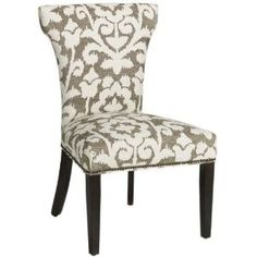 Contemporary Curved back Parsons Chair