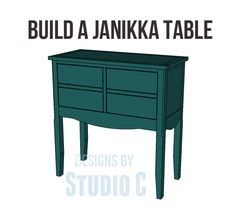 Build a Janikka Table