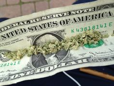 With the amount of cocaine on the average dollar bill, smoking this joint would probably be considered smoking chronic