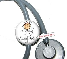 Hey, I found this really awesome Etsy listing at http://www.etsy.com/listing/78525153/stethoscope-id-tag-nurse-personalized
