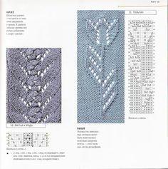 lace knit, estonian lace, knit stitch, knitting patterns, knitting lace patterns, tulip, chart includ, knit pattern, spring pattern