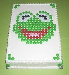 Muppet m cake