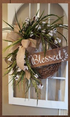 Farmhouse wreath, co