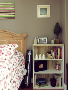 DIY Bookshelf Upcycle
