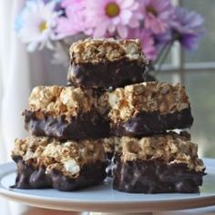Cookie Butter Popcorn Bars