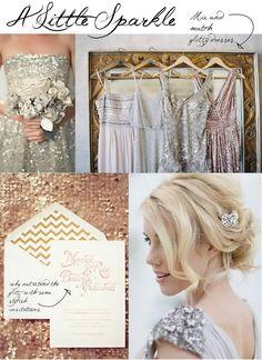 bridesmaid dresses 2014 idea - glitzy bridesmaid ideas for summer wedding Summer Bridesmaid, Sequin Bridesmaid Dresses, Bridesmaid Ideas, The Dresses, Bridesmaid Trends