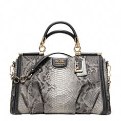 MADISON EMBOSSED PYTHON CAROLINE