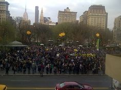 Million Hoodie March in NYC for Trayvon Martin #Justice4Trayvon