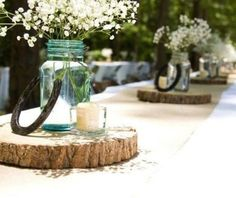 Western Wedding Deco