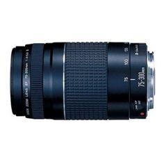 #4: Canon EF 75-300mm f/4-5.6 III Telephoto Zoom Lens for Canon SLR Cameras