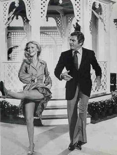 Cheryl Ladd and Gene Barry
