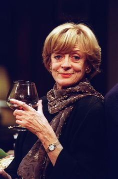 maggie smith (from Downton Abbey). I seriously love her :)