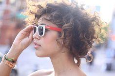 Curly Bob Cut @ biracial & mixed hair