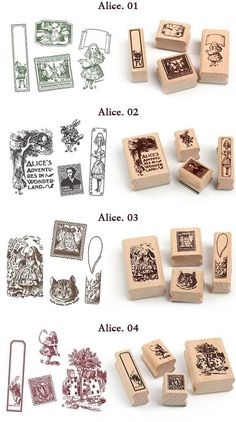 Alice stamps
