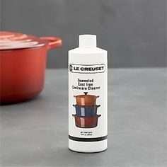 Le Creuset® Enameled Cast Iron Cookware Cleaner I Crate and Barrel