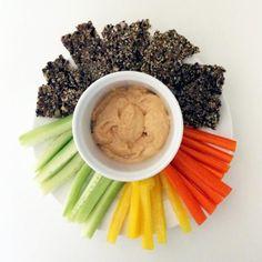 Hemp Flax Crackers Spiced With Zaatar Recipe
