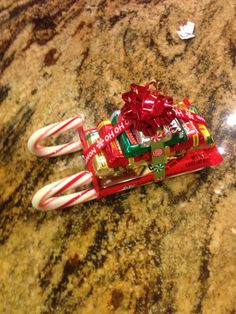 Easy candy sleigh