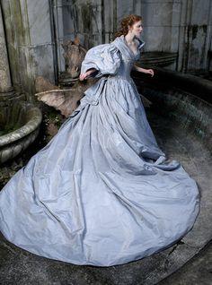 . renaissance, fashion, ball gowns, dress, art, carolin knopf, inspir, blue weddings, bride