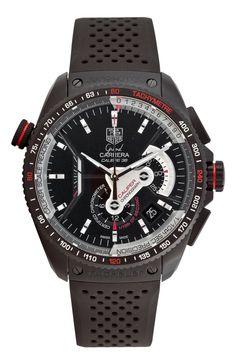 http://ebuywatchesonline.info/tag-heuer-mens-cav5185-ft6020-grand-carrera-automatic-chronograph-black-dial-watch-review/ TAG Heuer Men's CAV5185.FT6020 Grand Carrera Automatic Chronograph Black Dial Watch