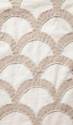 Large Scallops pattern // Alabama Chanin