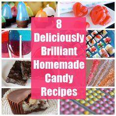 8 Deliciously Brilliant Homemade Candy Recipes