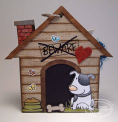 Dog Mini Album by TracyMac - Cards and Paper Crafts at Splitcoaststampers