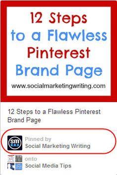 social media, pinterest follow