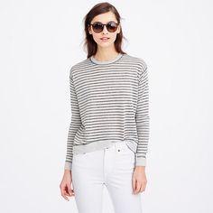 < metallic stripes.