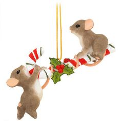 Friends Make The Teeter Sweeter Charming Tails Ornament