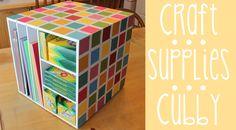 #ROAK Craft Supplies Cubby