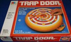 MILTON BRADLEY: 1982 Trap Door Game #Vintage #Games