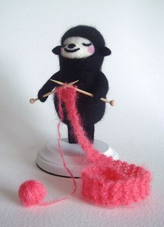 Little knitter :-)