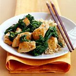 Chicken with Broccoli & Garlic Sauce