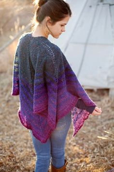 New! Gorgeous Knit Shawl Pattern