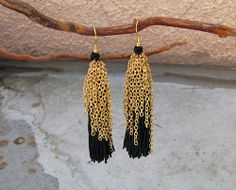 7-Chain-Tassel-Earrings-finished by ...love Maegan, via Flickr