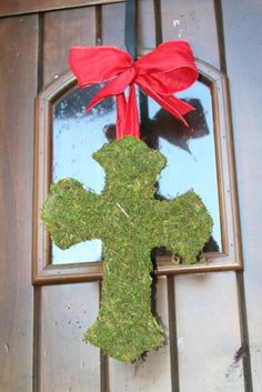 instead of a wreath at easter.... love it!