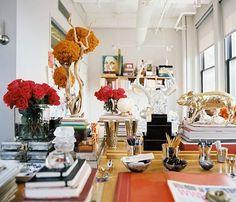 fabulous desk clutter