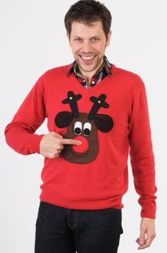 possible DIY ugly sweater christmas party.