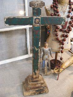 Antique Crucifix Vintage by wilshepherd