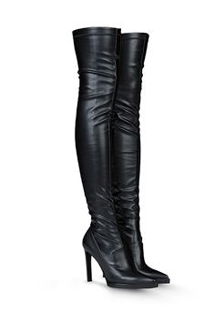 Faux-leather boots and shoes to satisfy your lust list and guilt