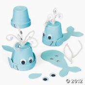 adorable whale craft for kids