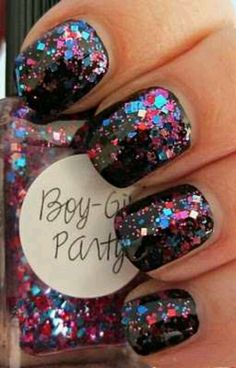 New years Eve nails or party nails!!