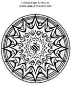 Free Adult Coloring Pages - Mandalas and More !