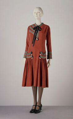 Paul Poiret :: 1920s dress perfection