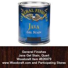 Java Gel from General Finishes, available at Woodcraft.
