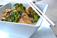 Chicken and Broccoli Stir Fry - Mother Thyme
