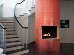 Crossville Porcelain Tile - Glass Blox - Dazzle Red