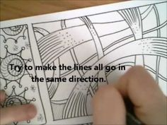 Dangerous Doodle - 'Over and Under' - YouTube Uploaded on Aug 26, 2011 Read more about this Dangerous Doodle pattern tutorial at http://miraculousmosquito.blogspot.co... http://www.youtube.com/watch?v=NfzwBGhTkSY