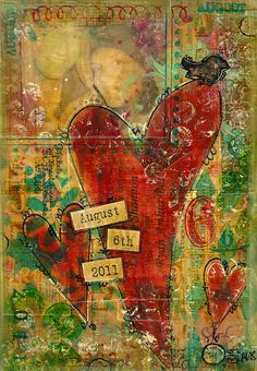 another amazing mixed media.  Love it!