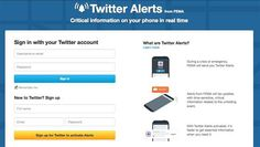 This is not a test: #Twitter announces new #text alert system in case of #NaturalDisaster, #WeatherEvent, or #HomelandSecurity issue. #Update now.